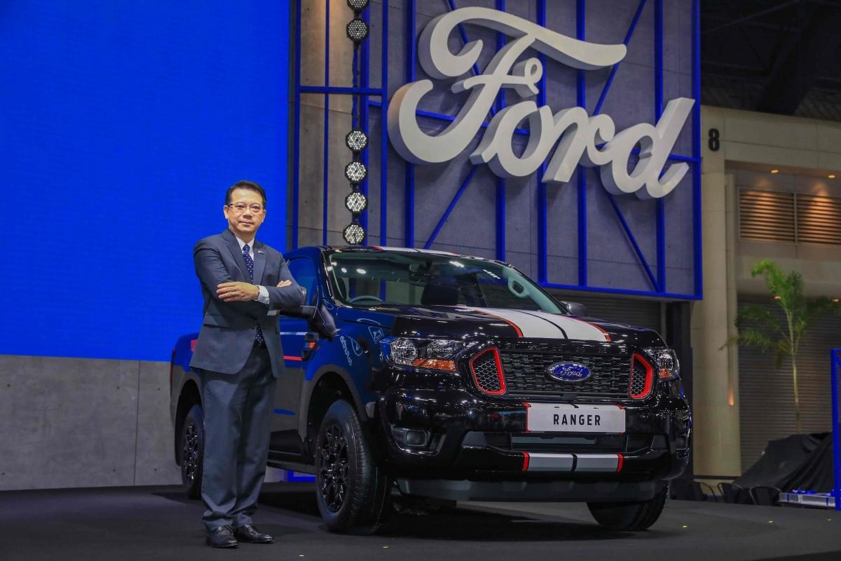 Wichit Wongwattanakan, managing director of Ford Thailand