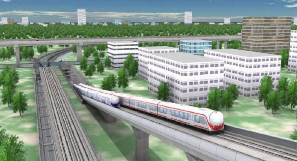 Construction of key transport hub Bang Sue Central Station completed