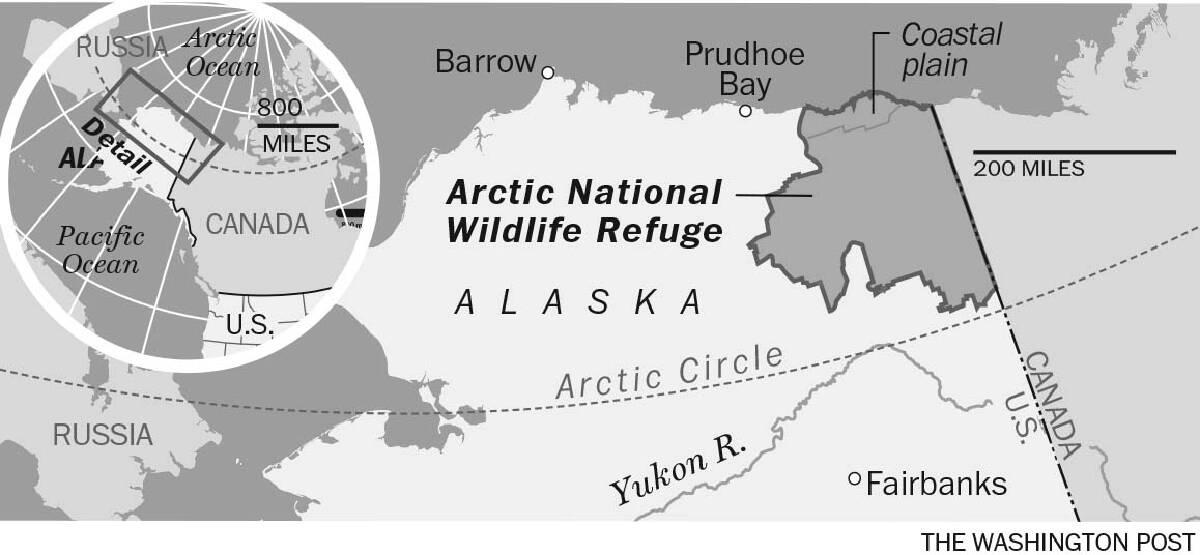 Arctic National Wildlife Refuge, ANWR, Alaska