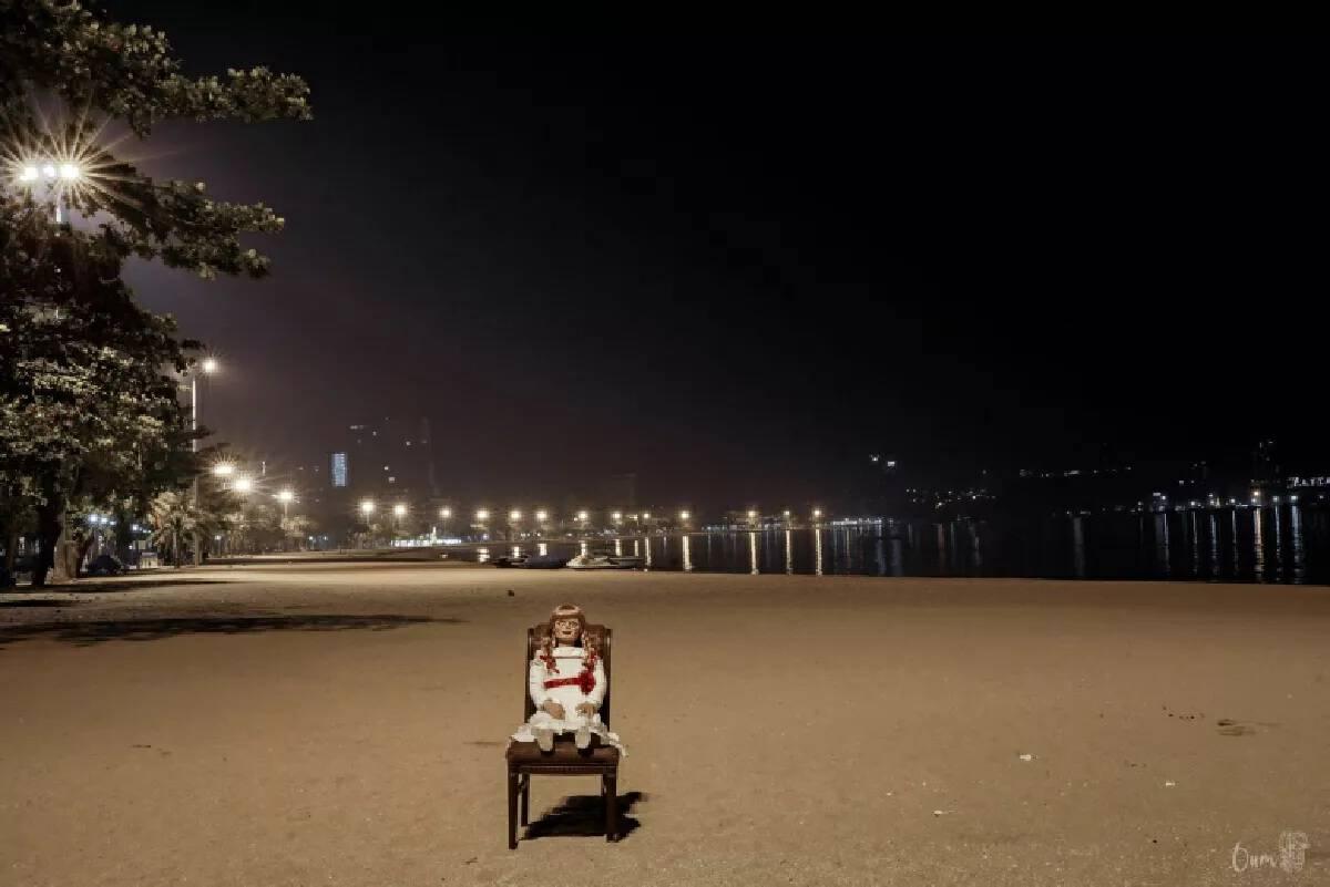 Quiet Pattaya turns creepy for a night