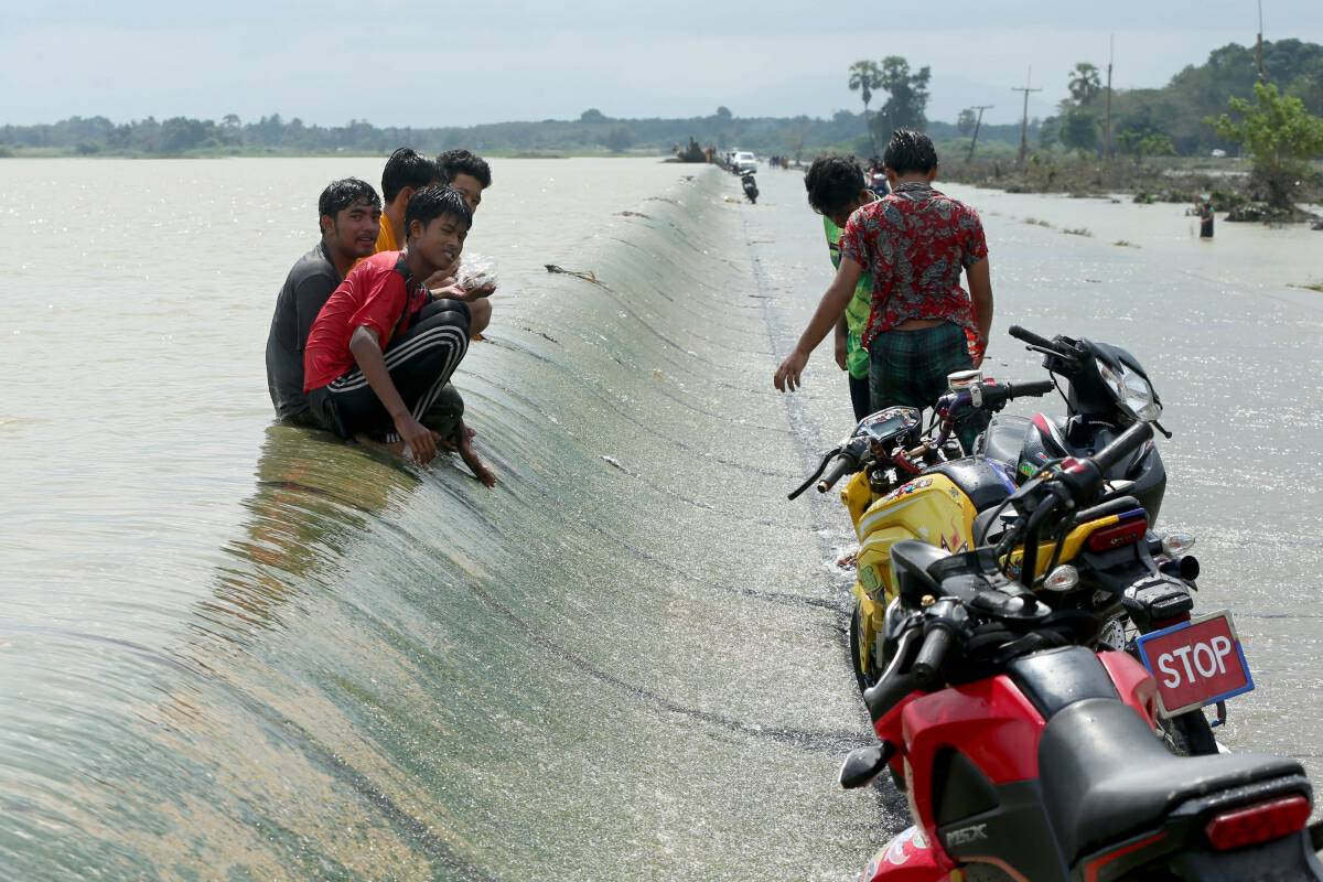 Sign of hope for flooded Pattani as dam pressure eases