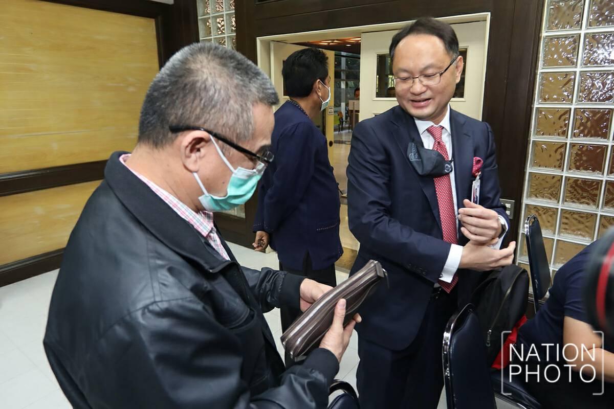 Pheu Thai MP clarifies on 'luxury' watch