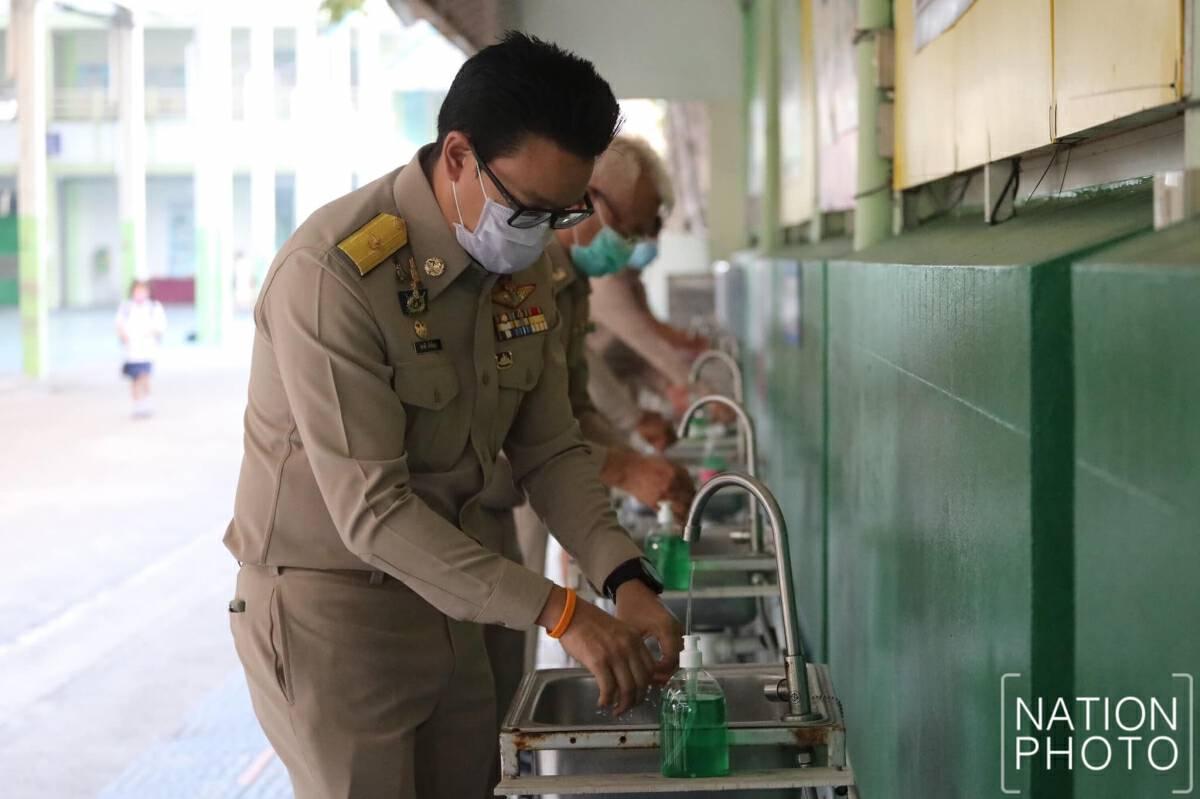 Bangkok schools reopen despite worries
