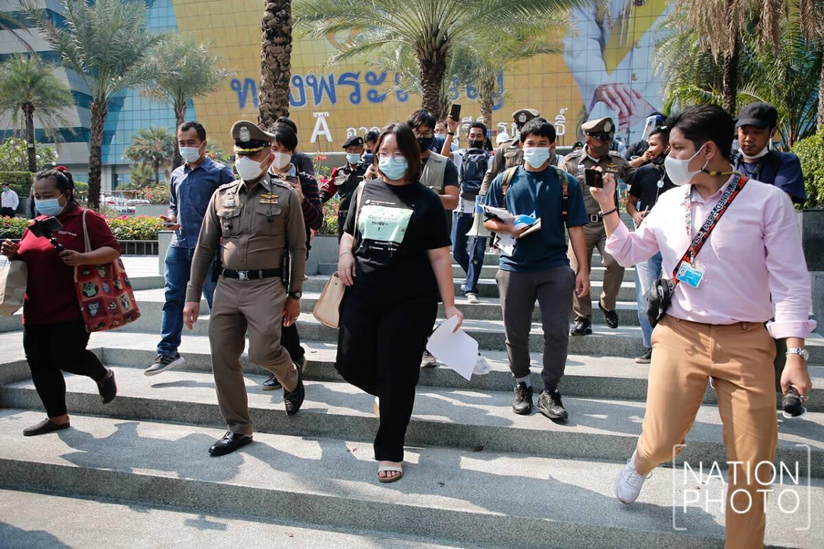 Protest leader demands fairness