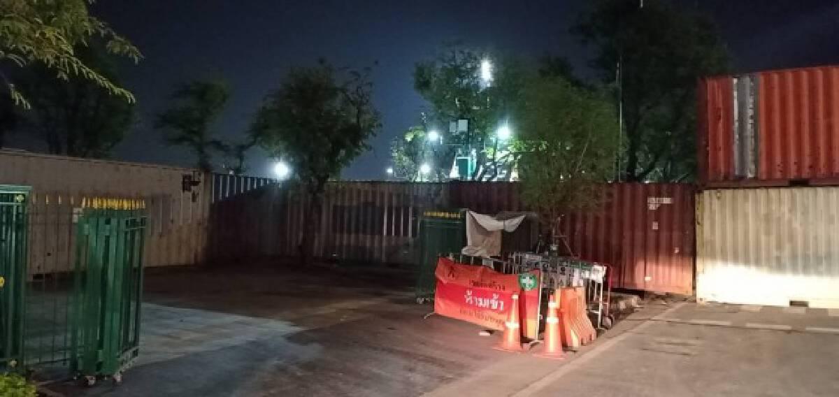 Blockades deployed in anticipation of Saturday rally
