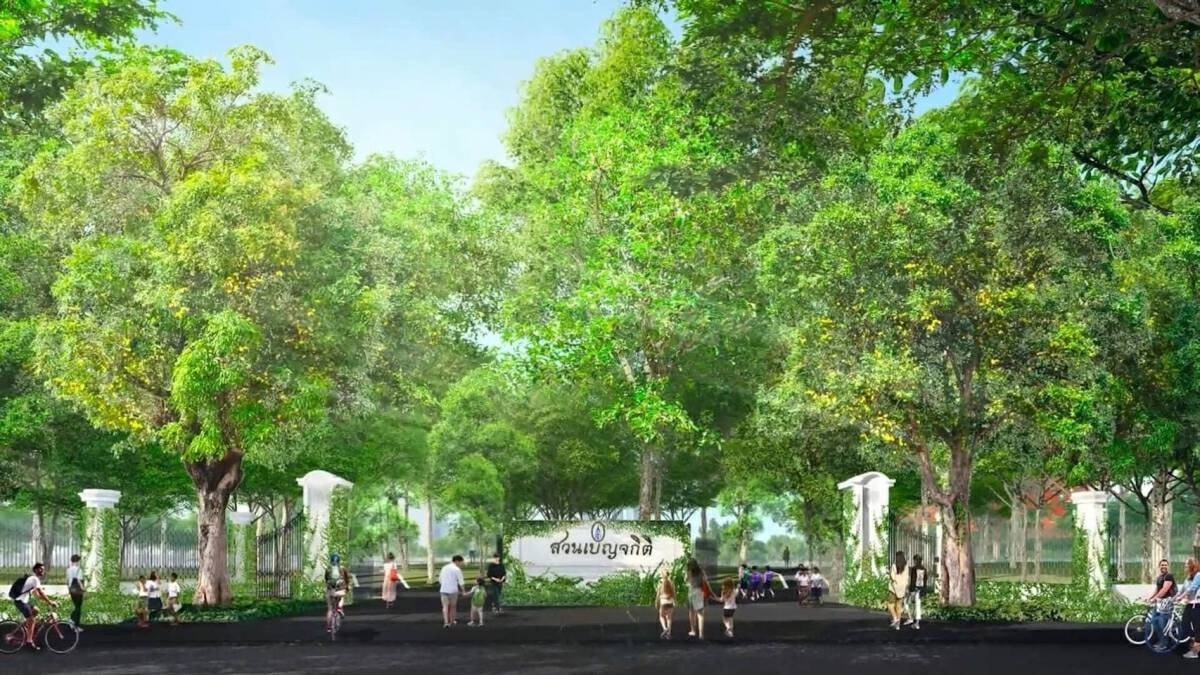 New lung of Bangkok expected to fully ready in Feb 2022