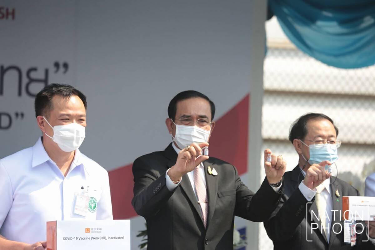 Good news: 200,000 doses of Sinovac arrive at Suvarnabhumi airport