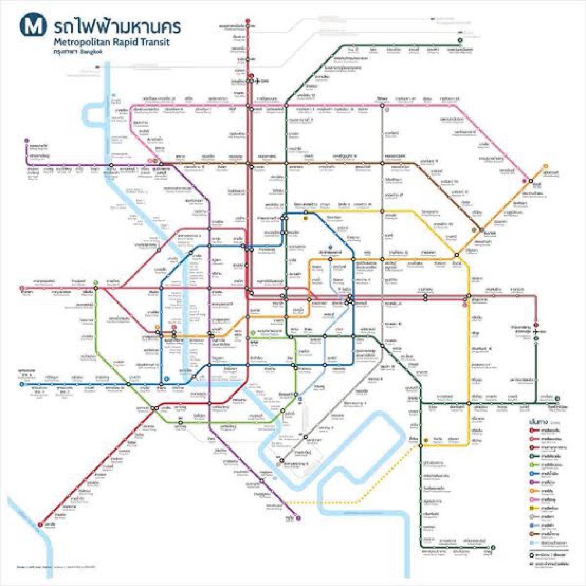 City embarks on Phase 2 of Bangkok Mass Transit plan