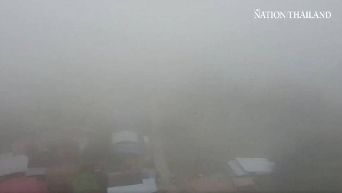 Misty morning in Nakhon Ratchasima