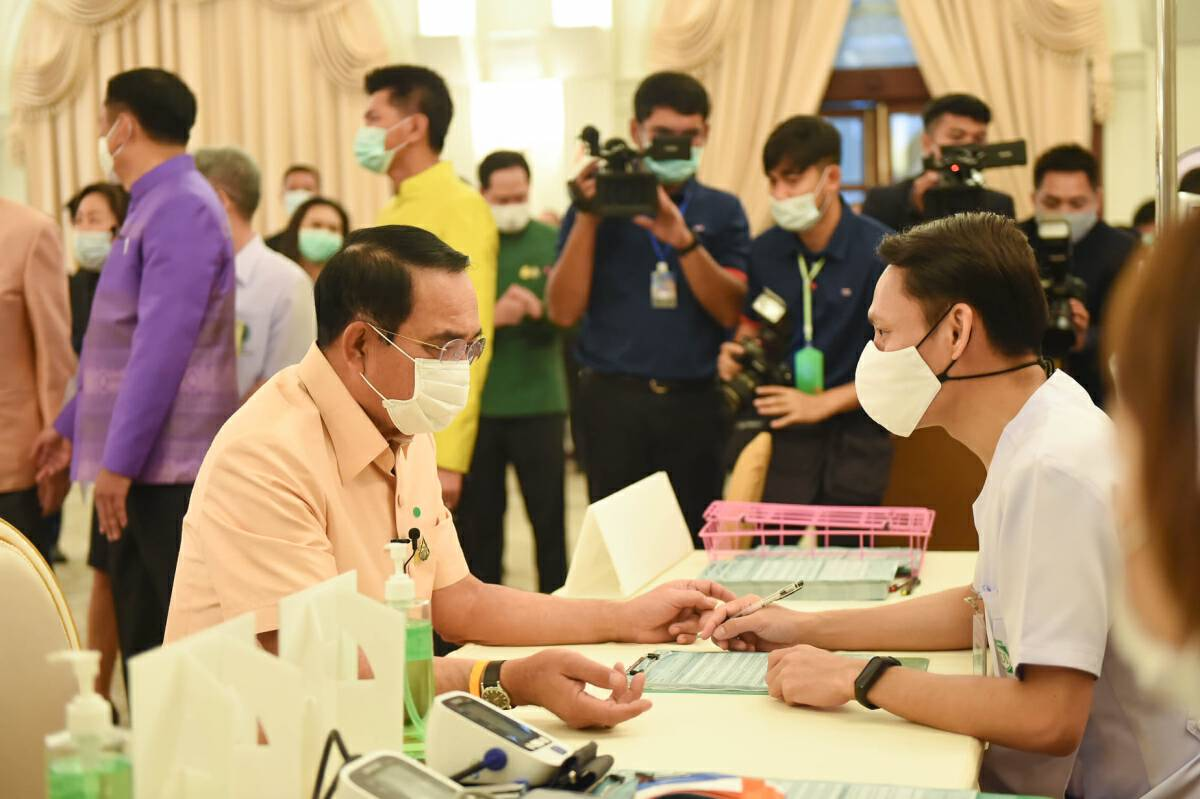 PM and 15 ministers get vaccinated before Cabinet meeting