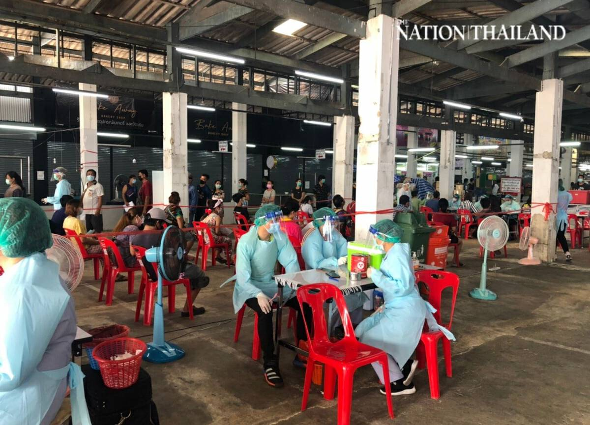 705 people get their first Covid jab in Bang Khae