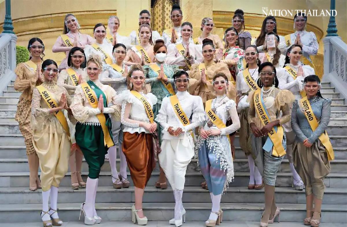 Miss Grand International contestants dazzle in Bangkok's Covid gloom