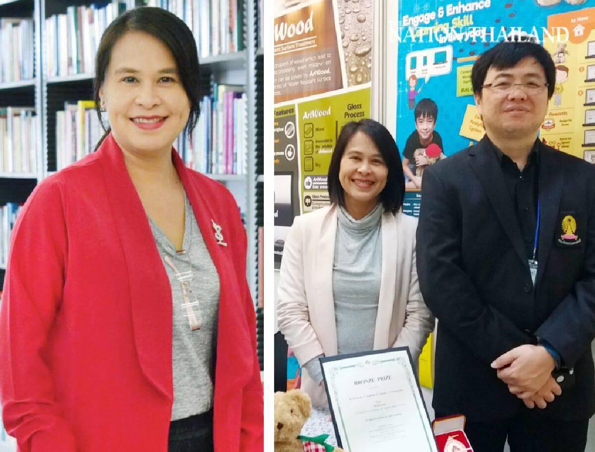 Prof Dr Naowanit Songkram (left) and Assoc Prof Dr Krerk Piromsopa (right)