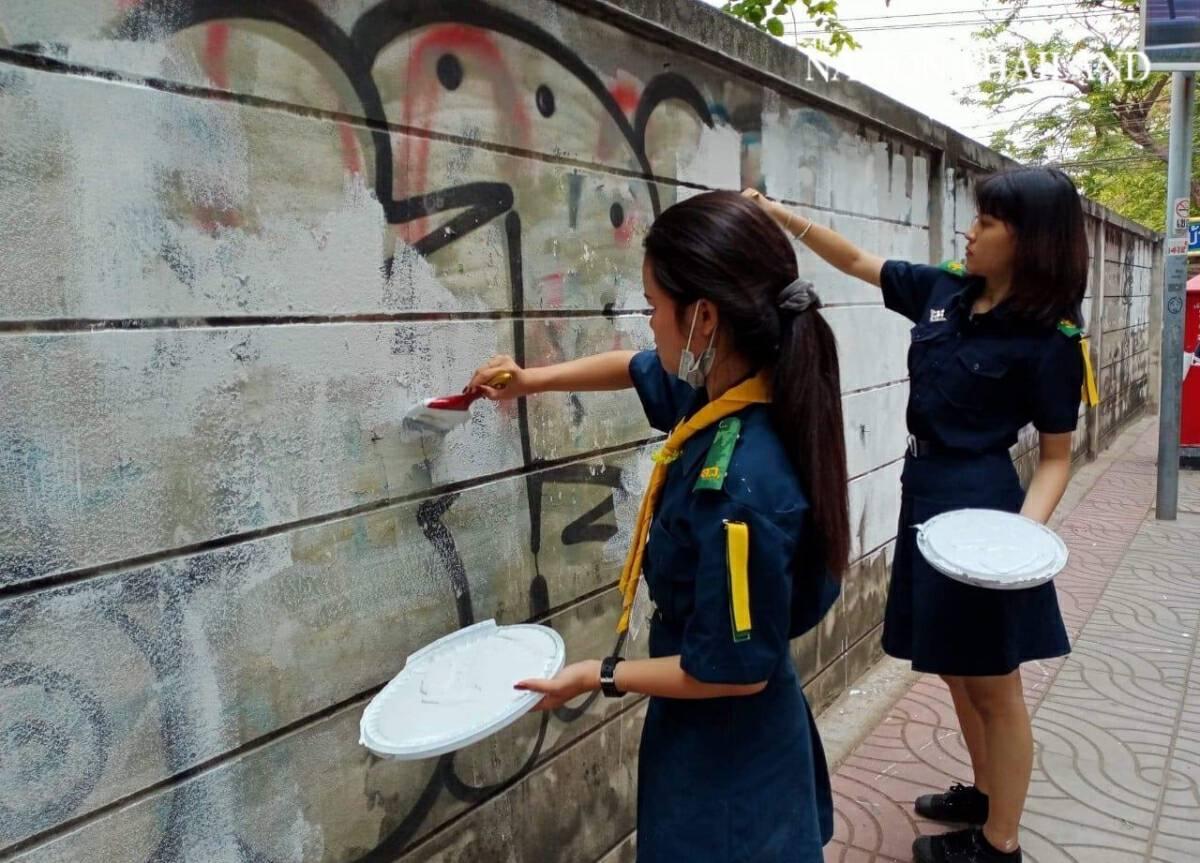Bangkok vocational students giving back to society
