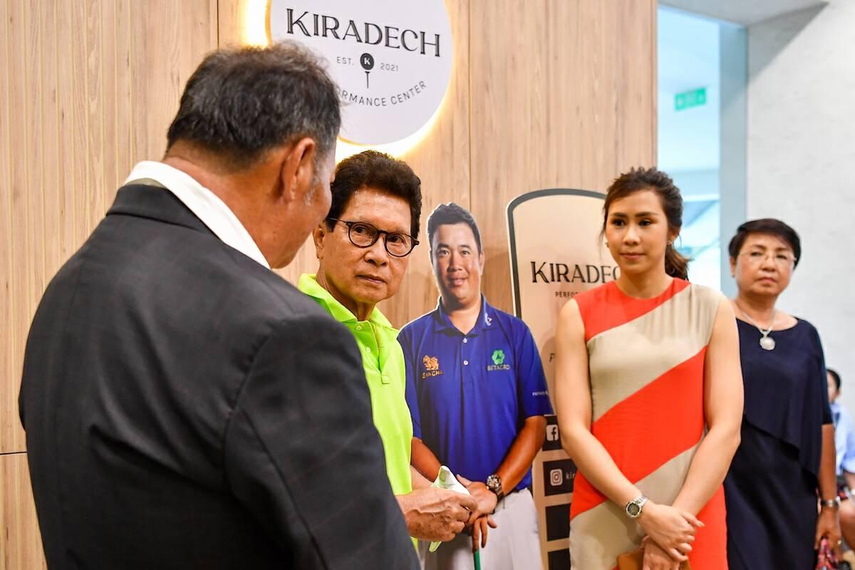 Kiradech opens new golf academy in Bangkok