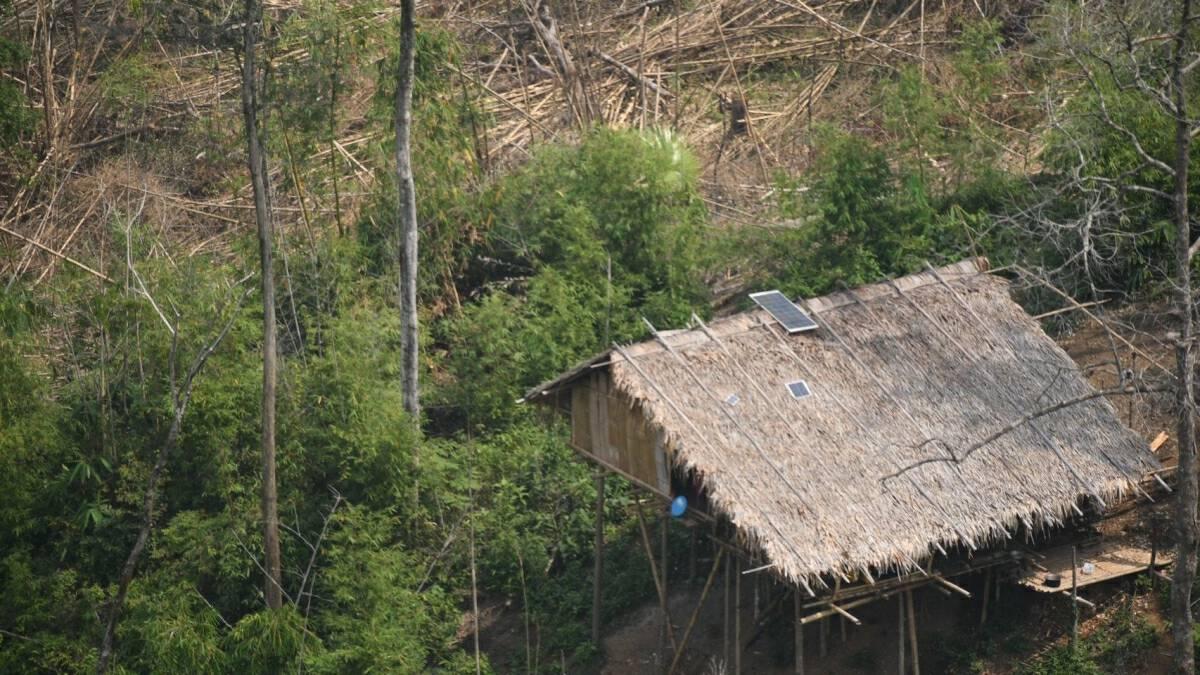 Aerial photos reveal forest encroachment in Kaeng Krachan National Park