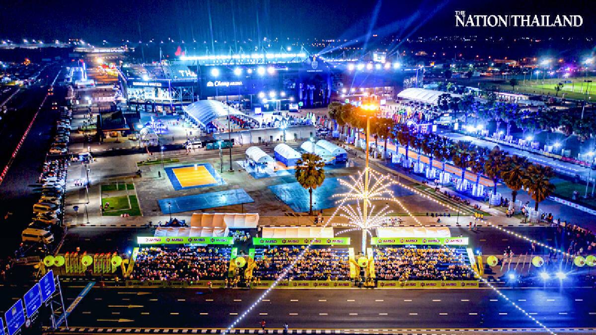 Thousands take part in first Buri Ram Marathon at night