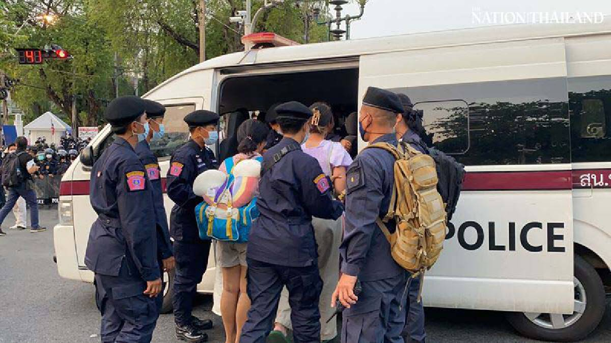 Protesters camping near Government House arrested