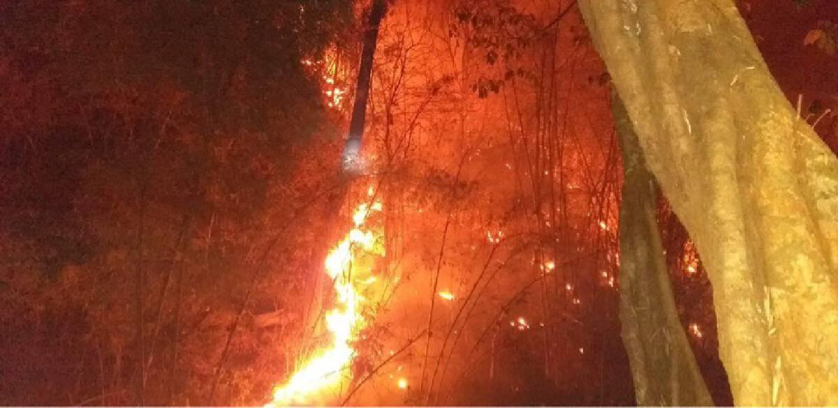 Chiang Mai air quality plummets as forest fire erupts