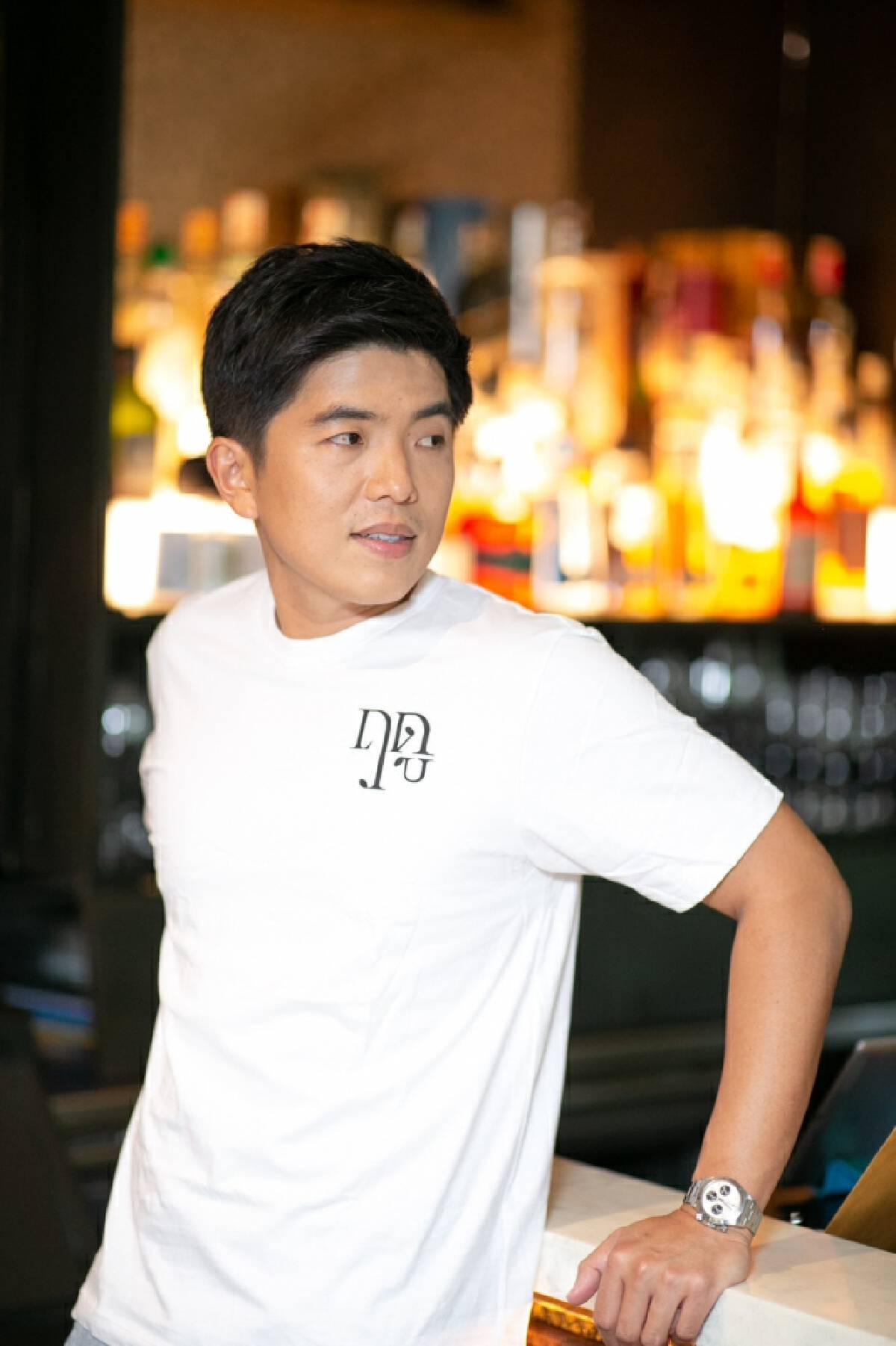 'Chef Ton Thitid Tassanakajohn' of LeDu restaurant, the first Thai chef who won 4th place award from Asia's 50 Best Restaurants 2021.