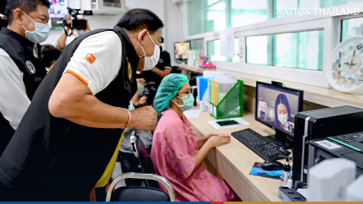Governor visits field hospital in Bangkok to survey preparedness