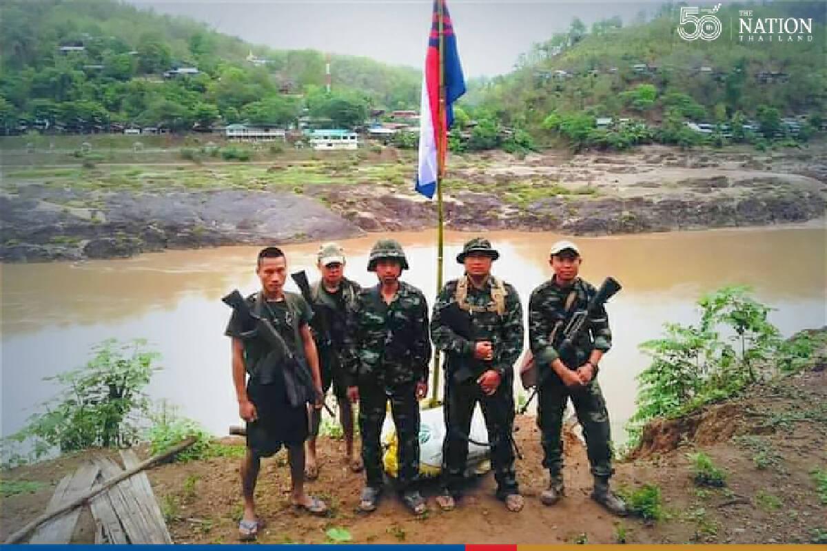 Myanmar troops shell Thai border village