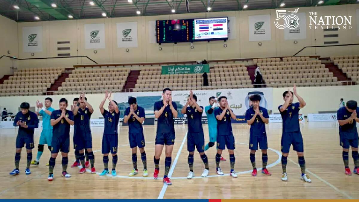 National futsal team kick their way into World Cup finals