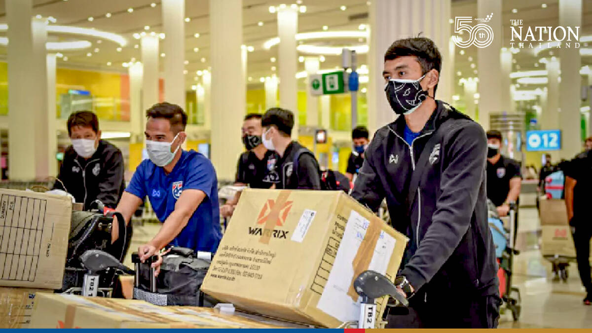 Coach worried over impact of quarantine on Thai teams preparations for World Cup qualifiers