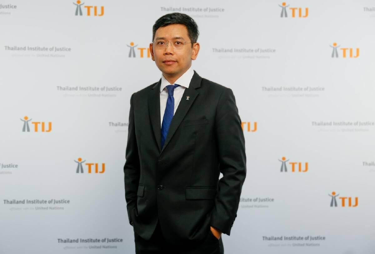 Dr.Phiset Sa-ardyen, Executive Director of TIJ