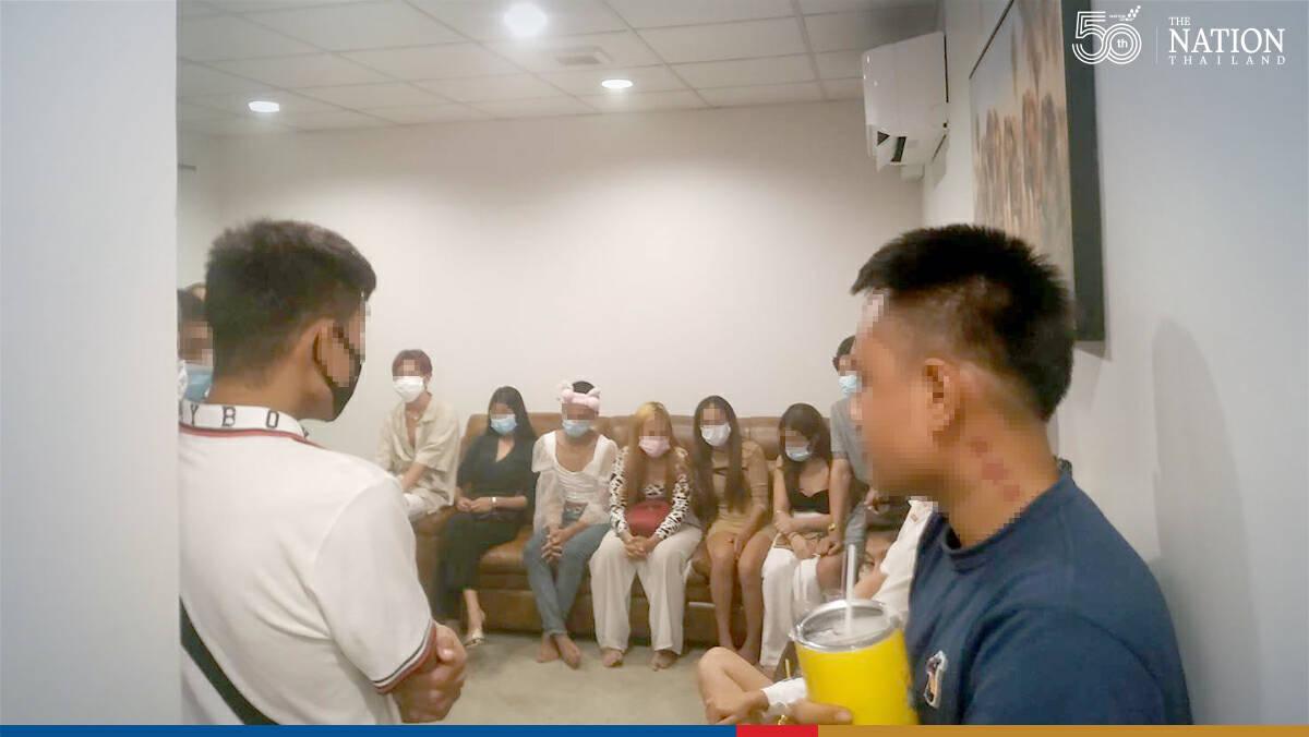 23 arrested as police raid drug party in Bangkok resort