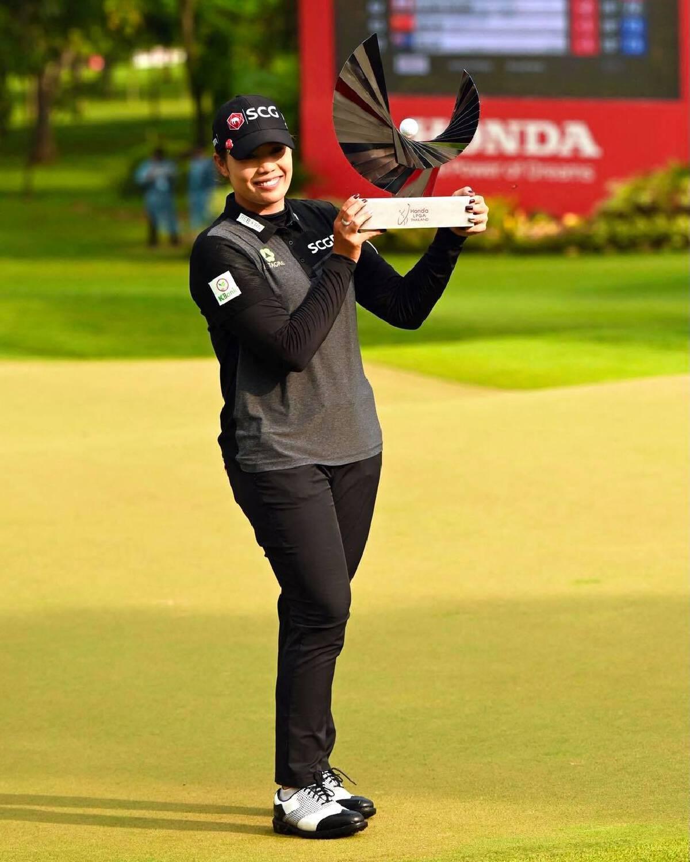 Ariya becomes first Thai in 16 years to win LPGA Thailand