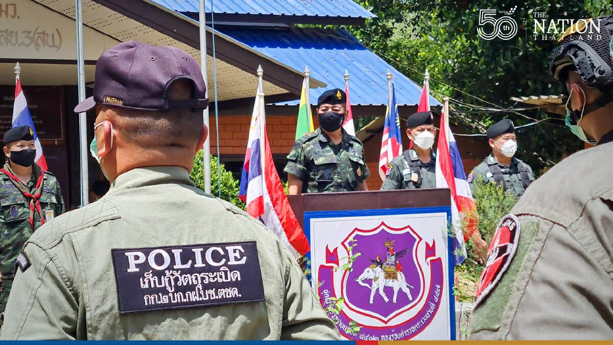 Patrolling tightened on border as Malaysia begins lockdown