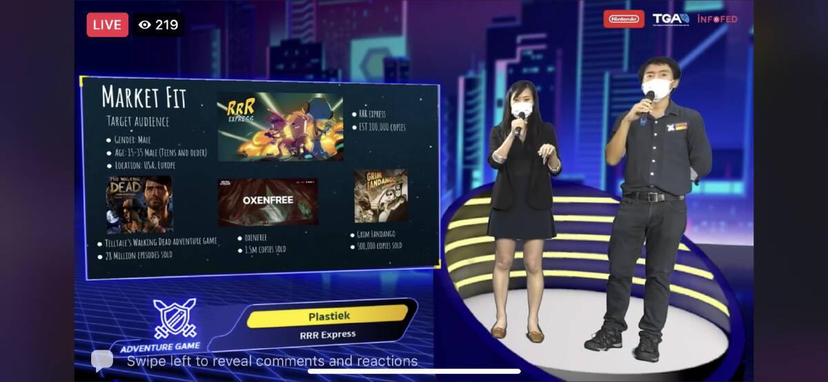 Four Thai game developers win dream shot at multitrillion-baht global industry
