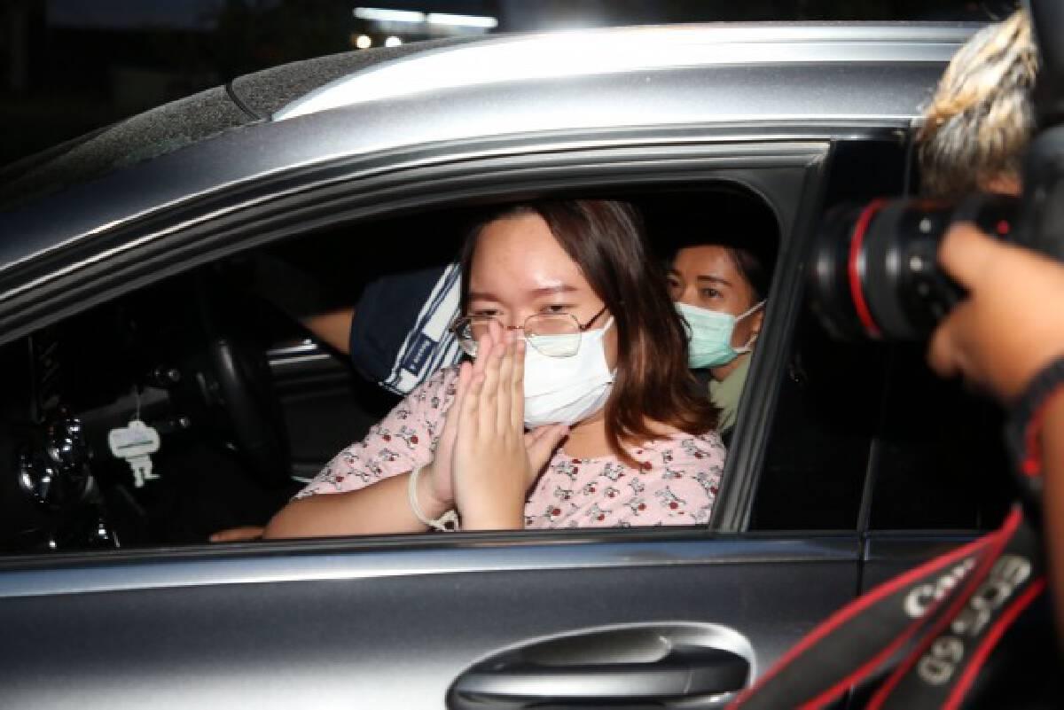 Pro-democracy leader Panusaya taken for medical treatment as court grants bail