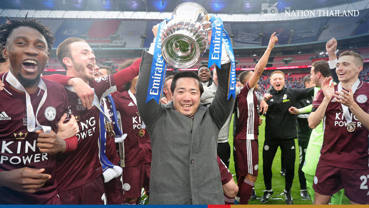On Top of the world as Aiyawatt is lauded for his role in Leicesters triumph