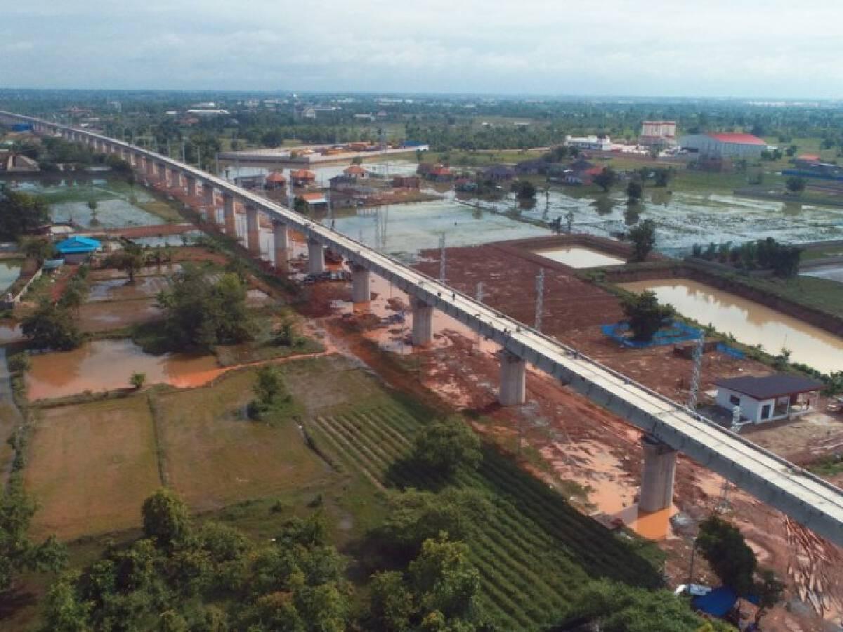 Construction progress of China-Laos Railway on schedule despite pandemic.