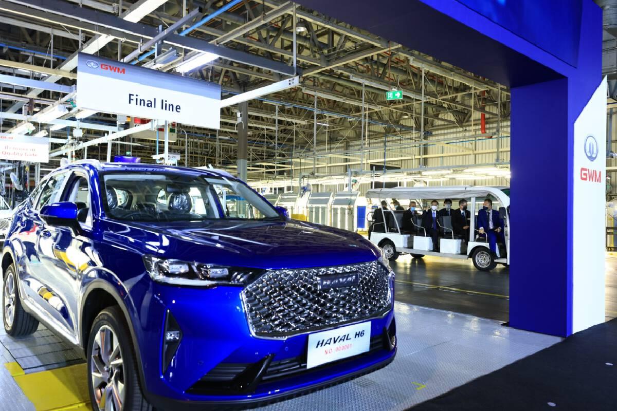 Great Wall Motor kickstarts Rayong production with new SUV offering
