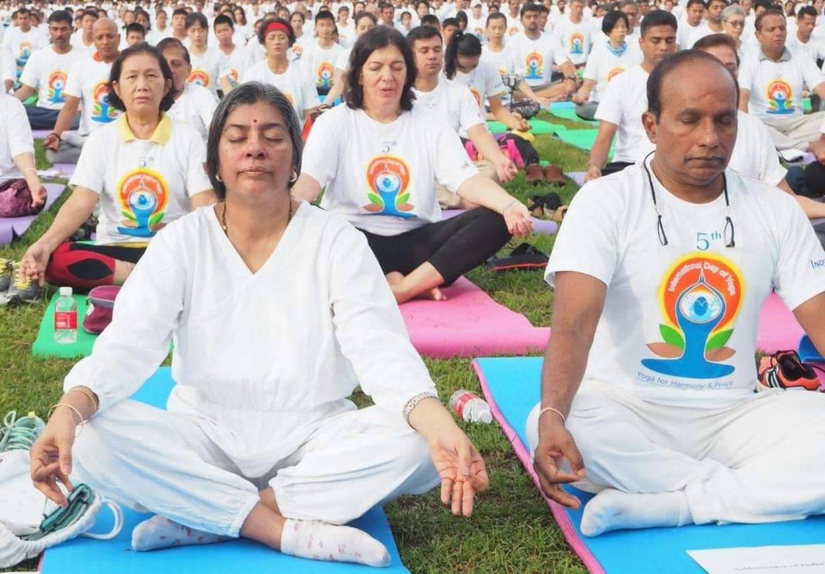 Yoga – for harmony and healing