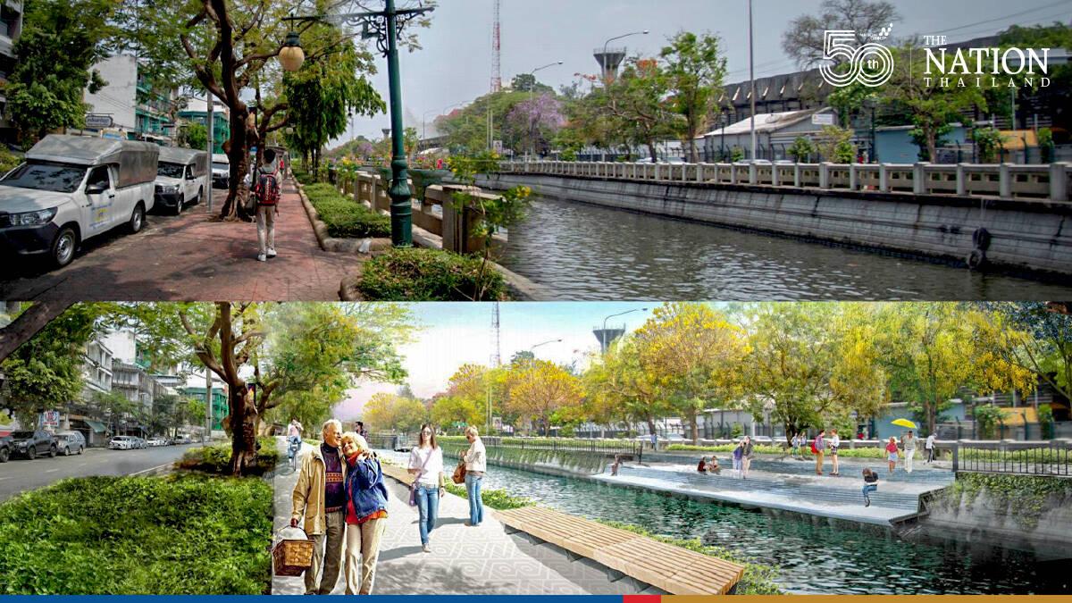 Historic Bangkok moat to be renovated from September