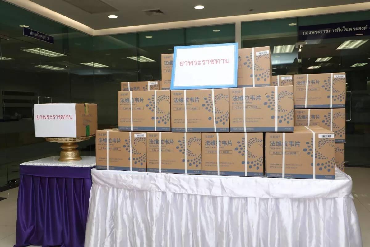King grants 200,000 Favipiravir tablets for Covid-19 patients behind bars