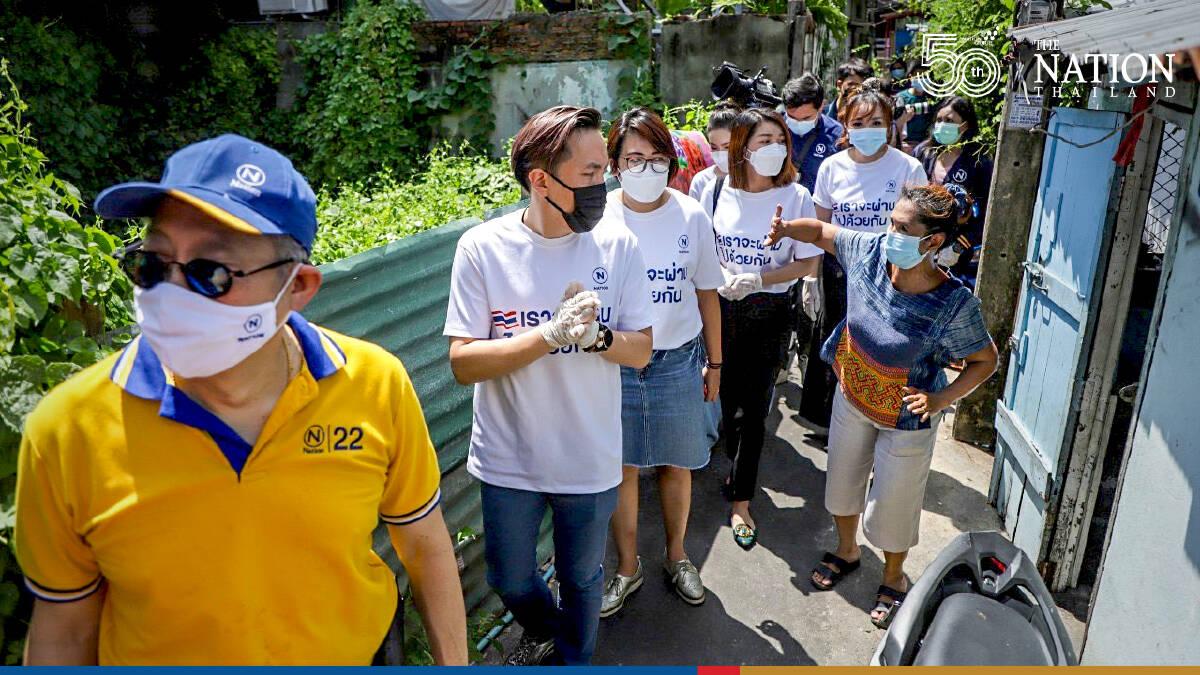 NMG lends a helping hand to slum dwellers in Bangkok's Bang Phlat area
