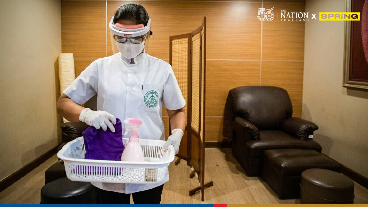 Massage shops, parks and beauty clinics reopen in Bangkok