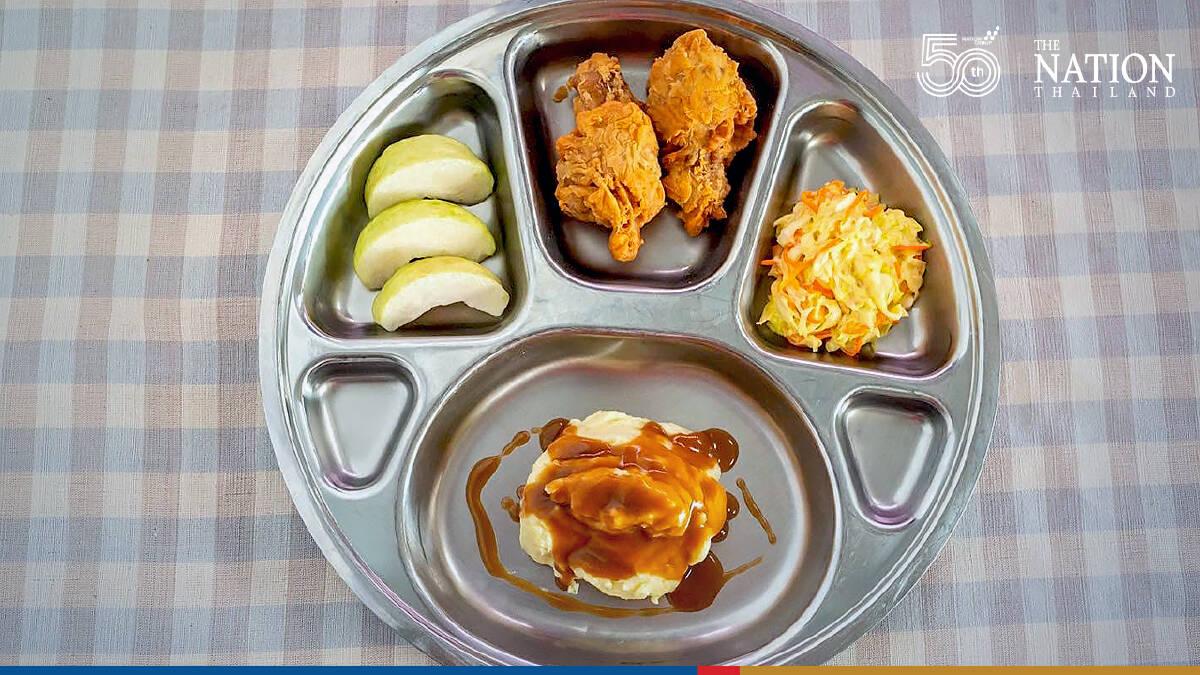 Lunchtime menu serves up creative learning for kids at Khon Kaen school