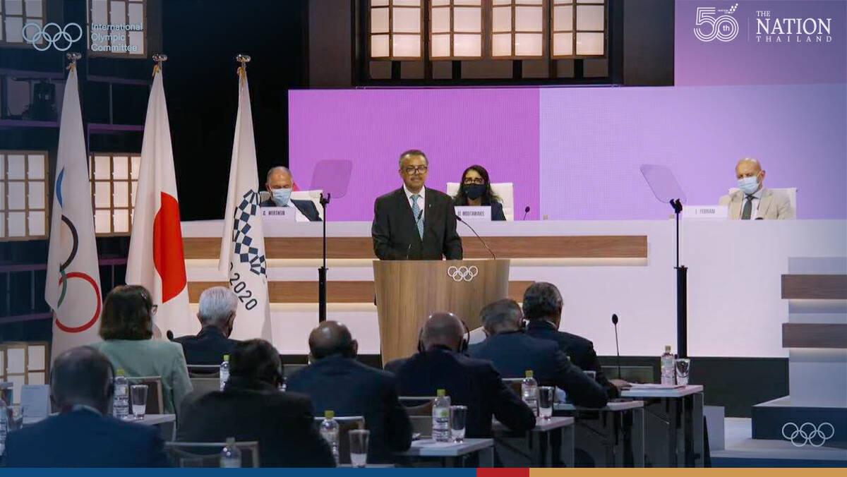 WHO chief backs Tokyo Olympics despite global surge of Delta