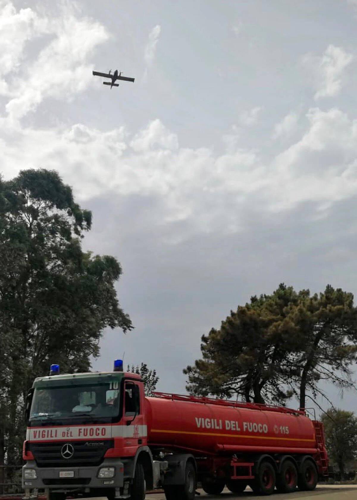 State of emergency declared in Italys wildfire-ravaged Sardinia.