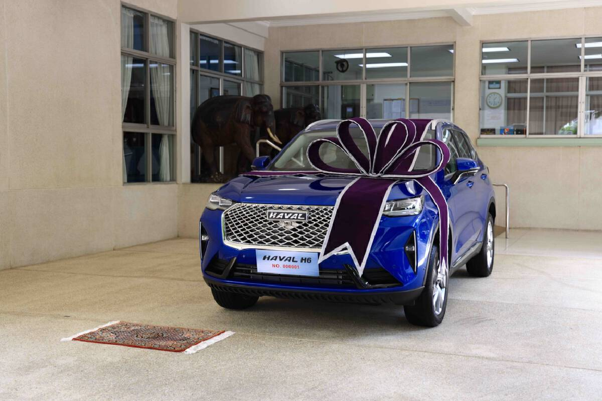 Great Wall Motor Presents First All New HAVAL H6 Hybrid SUV  from Thailand-based Production Line to HRH Princess Maha Chakri Sirindhorn