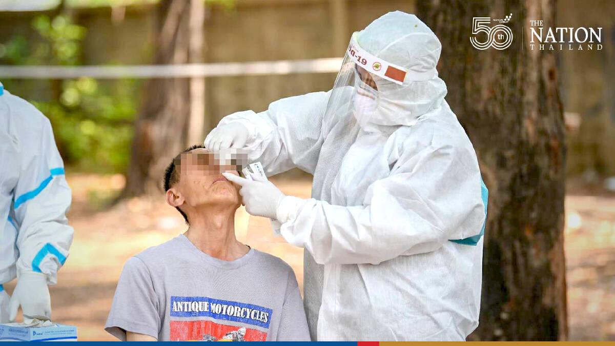 Bangkok battles rising contagion with rapid antigen tests