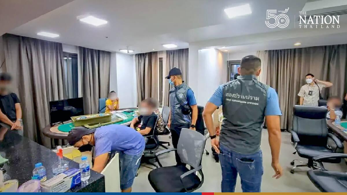 28 arrested for gambling in Phuket hotel room
