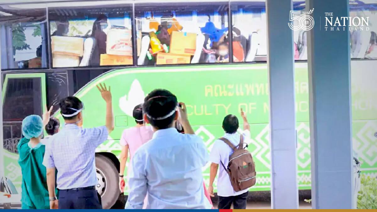 28 children, teachers from Khon Kaen nursery cluster discharged