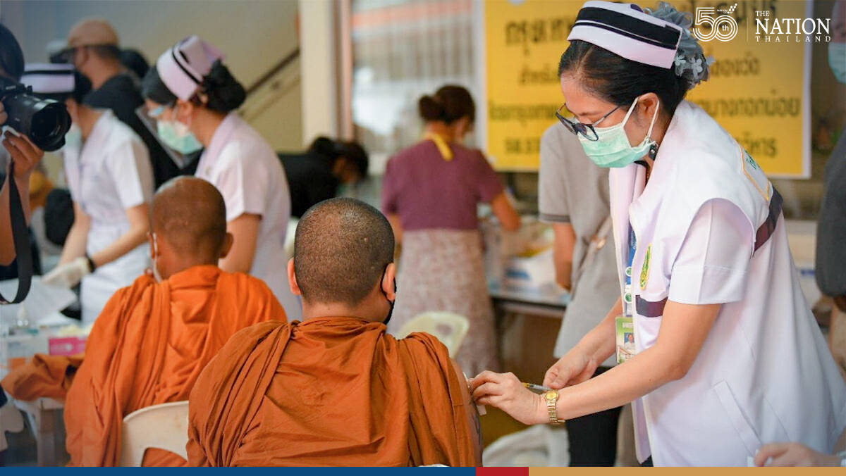 BMA launches drive to inoculate monks in Bangkok